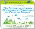 La Provincia di Latina, Coordinatore Territoriale del Patto dei Sindaci