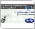 eafip Workshop for Energy Sector Public Procurers