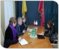 Украина: рабочая встреча с территориальным  координатором в Харьковской области